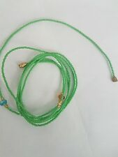 "Sexy African Single Waist Beads, Green 22""inches long New FREE UK P&P"