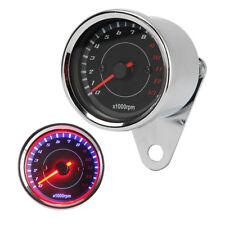 LED Backlight Tachomete RPM Fit Harley Dyna Glide Wide Glide Super Glide Sport