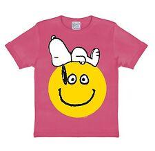 Camiseta para niña Snoopy - Sonrisa, Peanuts - Beagle - Snoopy - Smile - Rosa