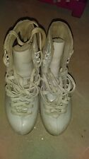 Ice Figure Skates Riedell 75 Gold Star used boots for Freestyle Girls size 1