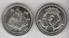 BASSAS DA INDIA (French) 50 Francs 2012 Ship, unusual coinage