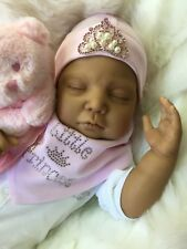 ETHNIC MIXED RACE ASIAN REBORN DOLL LIVVY BABY GIRL REALISTIC REAL LIFE DOLL