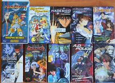 Wholesale Lot of 10 Anime VHS VIdeo Tape Dubbed in English Series First Volumes