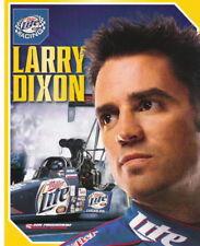 2006 Larry Dixon Miller Lite Top Fuel NHRA postcard