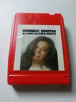 """8 TRACK TAPE CARTRIDGE CONNIE SMITH """"A LADY NAMED SMITH"""" 1973 COLUMBIA"""