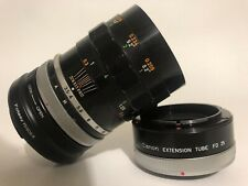 CANON RF Adapted FL 50mm F/3.5 MACRO w/ EXTENSION TUBE EOS R, RP