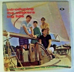 Introducing The Seekers Big Hits, A Treasury of Songs - LP Record