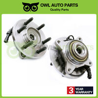 2 Front Wheel Bearing Hub 07 08-10 Ford Lincoln Expedition Navigator 4WD 515095