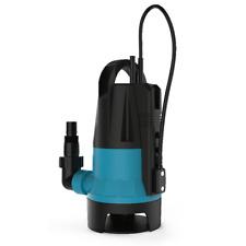 Tauchpumpe mit elektronischen Schwimmer Schmutzwasser Wasser Pumpe Gartenpumpe