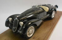 Brumm 1/43 Scale Metal Model - R139 ALFA ROMEO 8C 2900B BLACK 1938