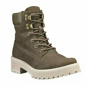 """Timberland Carnaby Cool 6"""" Boot Olive size 7 NWOT"""