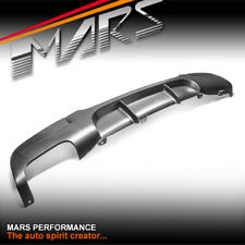 Performance Style Bumper bar Single Outlet Diffuser for BMW E90 sedan E91 Wagon