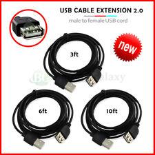 Lot 1-100 USB Extension Cable Cord 3' 6' 10' for iPhone 12/Mini/Pro/Pro Max/SE