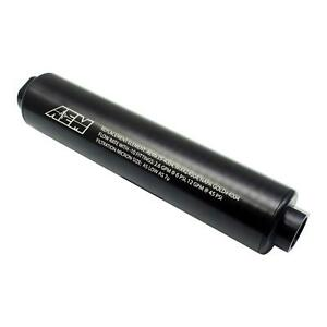 AEM 25-201BK Universal High Volume Fuel Filter