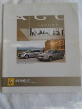 Renault Laguna Hatch & Sport Tourer brochure Mar 2005