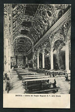 Posted 1920s View of the Cathedral Interior, Brescia