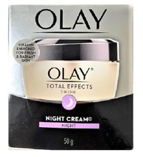 Olay Total Effects, 7 in One Night Firming Cream Face Moisturizer, 1.7 oz