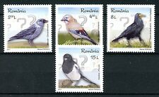 Romania 2017 MNH Intelligent Birds Crows Magpies Jays Rooks Jackdaws 4v Set