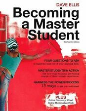 Becoming a Master Student By: Dave Ellis