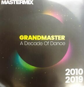GrandMaster - A Decade Of Dance 2010-2019 CD For DJ Use Only