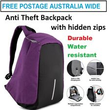 Travel Backpack Water Resistant Anti Theft Durable Laptop Bag Hidden Zippers
