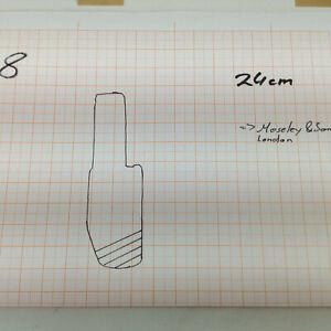 H 8 Antiker Profilhobel Konturhobel Hobel Restaurator Möbel Schreiner Tischler
