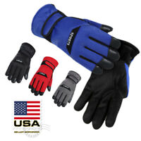 Thermal Winter Gloves Snow Ski Outdoor Sports Warm Mittens