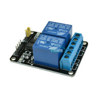 12V Two 2 Channel Relay Module With Optocoupler For PIC AVR DSP ARM Arduino M