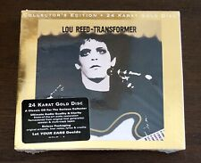 Lou Reed Transformer Rare Promotional 24 Kt Gold Audiophile CD Sealed Nice!
