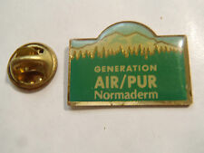 PIN'S GENERATION AIR PUR NORMADERM