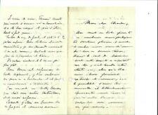 Lettre à un soldat / 21 aout 1914