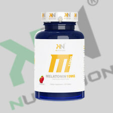 NEW! KN nutrition Melatonin10mg .fast dissolve  Sleep 100 tab Free Shipping!