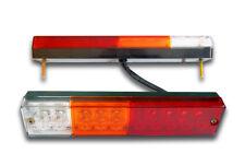 2 x LED MULTI-VOLT REAR LIGHTS TAIL/DL/BRAKE/REVERSE COMBINATION LAMPS TRUCK VAN
