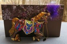 Jay Strongwater Carousel Horse Ornament Swarovski Elements New Box