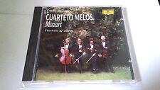 """CUARTETO MELOS """"MOZART CUARTETOS DE CUERDA"""" CD 428 184-2"""