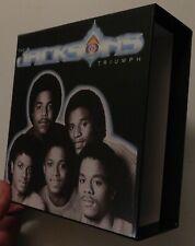 THE JACKSONS TRIUMPH EMPTY BOX FOR JAPAN MINI LP CD   G03 MICHAEL JACKSON