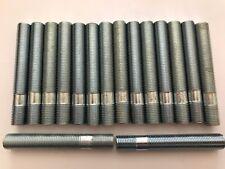 16 x M12X1.5 LEGA RUOTA BORCHIE Conversione Bulloni Lunghi 80mm si adatta AUDI 57.1 4X100