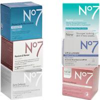 No7 Lift, Restore, Defense, Hydra Day / Night Cream Variety