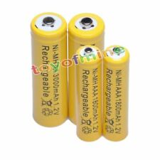 2+2 AAA AA 1800mAh 3000mAh NiMH Rechargeable Battery YW