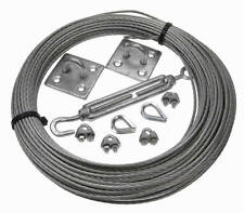 High Grade Stainless Steel Catenary Wire Kits You Choose Size and Length NO RUST