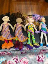 Groovy Girls Lot 4 Dolls Kami Siri Maddle Solans ManhattanToy