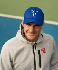 Roger Federer RF Logo Official Uniqlo Tennis Cap Hat - Wimbledon - Brand New