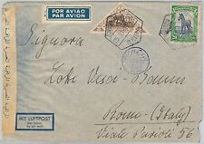 56631 - FAUNA Animals  - MOZAMBIQUE -  POSTAL HISTORY: AIRMAIL COVER 1938