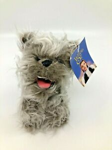 "NEW Wizard of Oz Toto Plush Dog 8"" Long NWT 1998 Warner Bros Studio [13]"