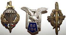 Lot 3 insignes militaires (2)