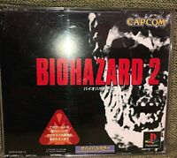 BIOHAZARD 2 Resident Evil Playstation PS Import Video Game p1 Japan EXCELLENT+
