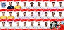 England World Cup Football Squad Trading Cards 2018