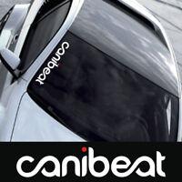 1pc CANIBEAT Hellaflush Car Styling Front Windshield Window Decal Sticker Decor