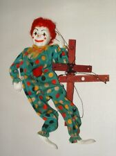 1950s CLOWN MARIONETTE VERY GOOD FROM SMOKE FREE HOME