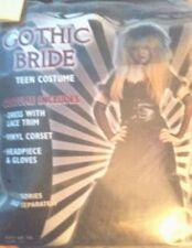Franco American Gothic Bride Teen costume